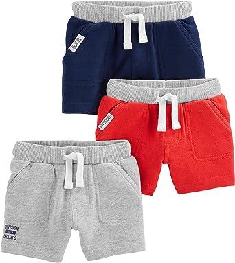 Simple Joys by Carter's Boys' Multi-Pack Knit Shorts
