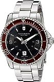Victorinox Men's 249108 Analog Swiss Quartz Silver Stainless Steel Watch
