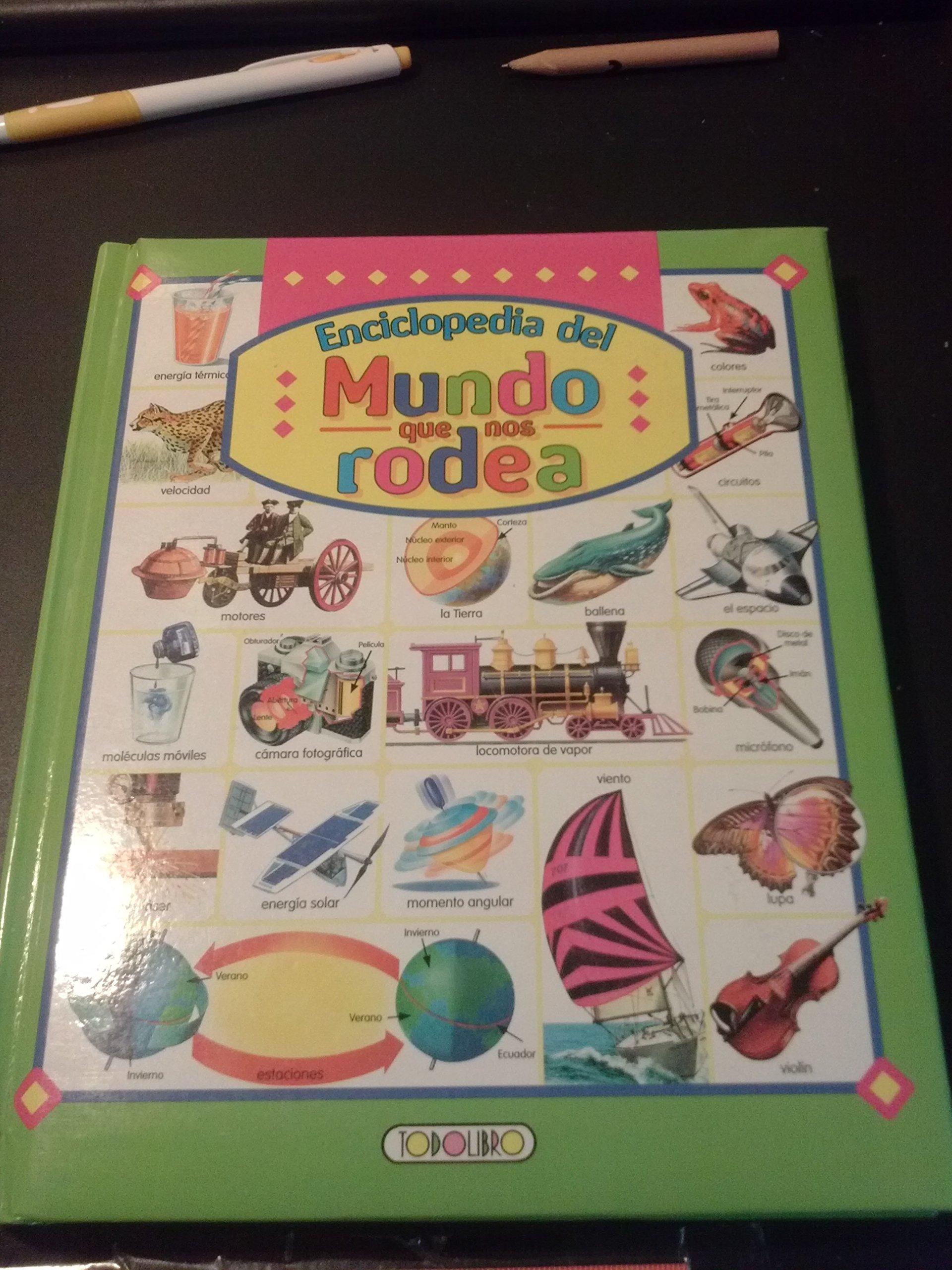 ENCICL. MUNDO QUE NOS RODEA /TODOLIBRO (Spanish) Paperback