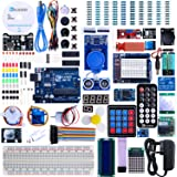 Elegoo UNO R3 Project The Most Complete Ultimate Starter Kit w/ TUTORIAL, UNO R3 controller board, LCD1602, Servo, Stepper Motor for Arduino UNO Project