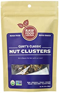 Raw Food Central Curt's Classic Nut Cluster - Never Baked, SMALL BATCH (Organic NON GMO Gluten Free Vegan Kosher)