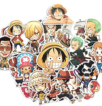 shopiseller Pegatinas One Piece Stickers Manga de una Pieza (46 ...