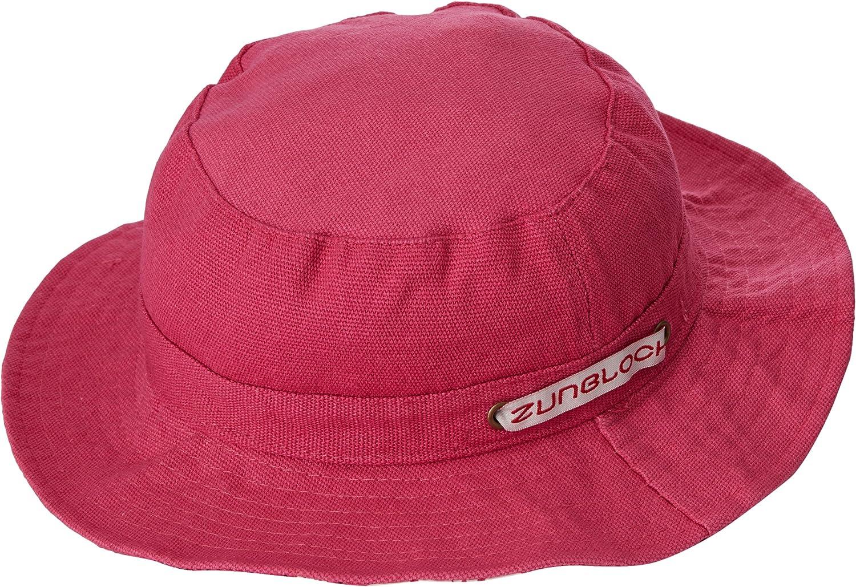 Zunblock Color Rosa Sombrero Infantil con protecci/ón Solar