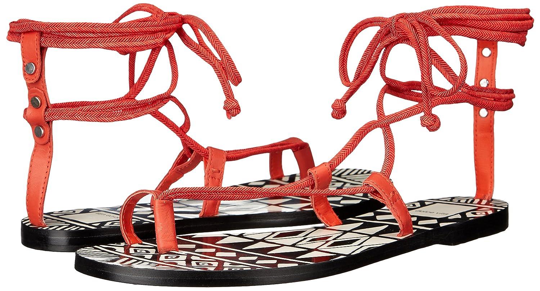 Dolce Vita Women's Chandler Toe Ring Sandal B01ELVC79A 8.5 B(M) US|Red Orange