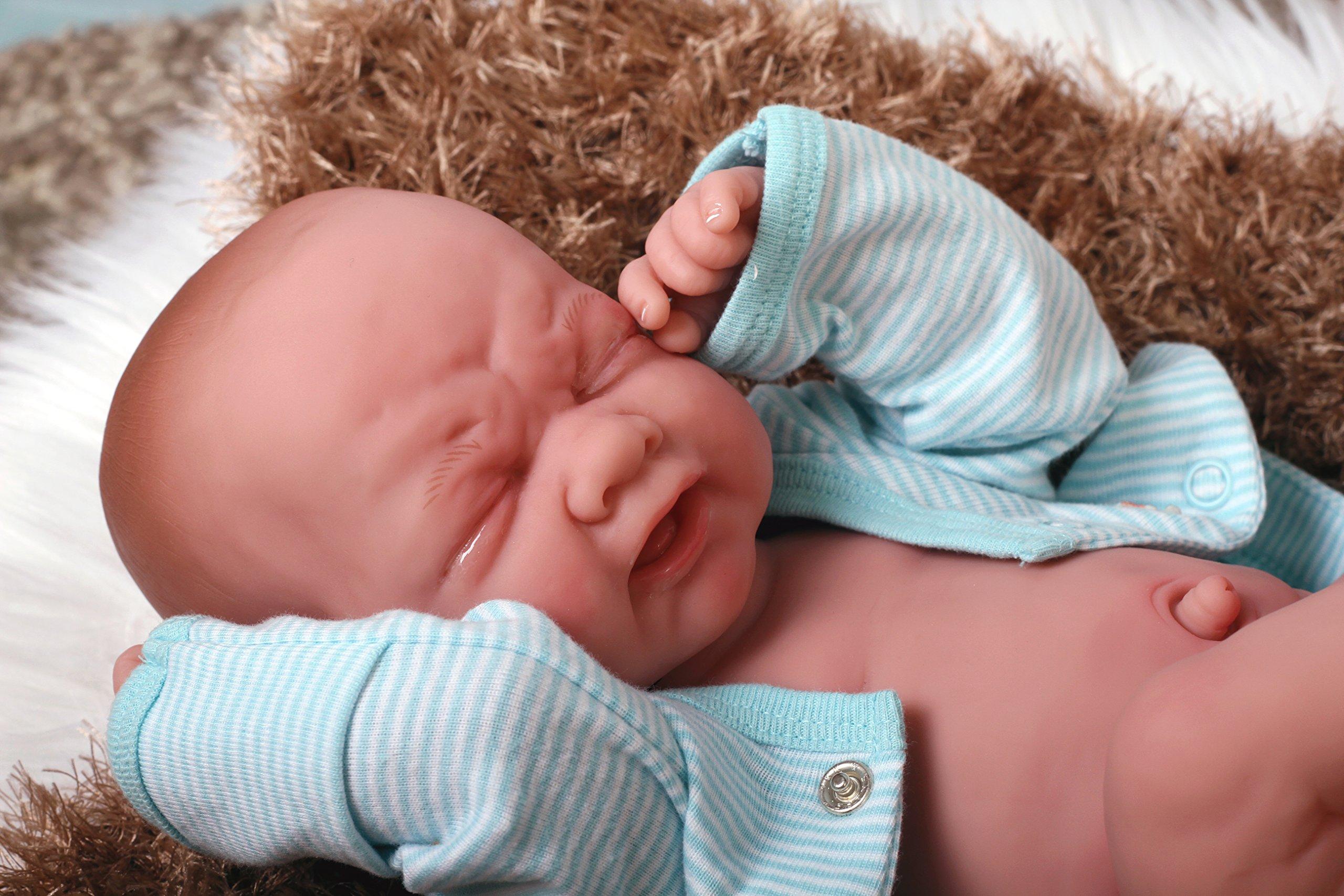 Baby BOY so precious Crying Preemie Berenguer Life Like Reborn Pacifier Doll +Extras accessories muñeco vinilo suave poupee souple en vinyle puppe