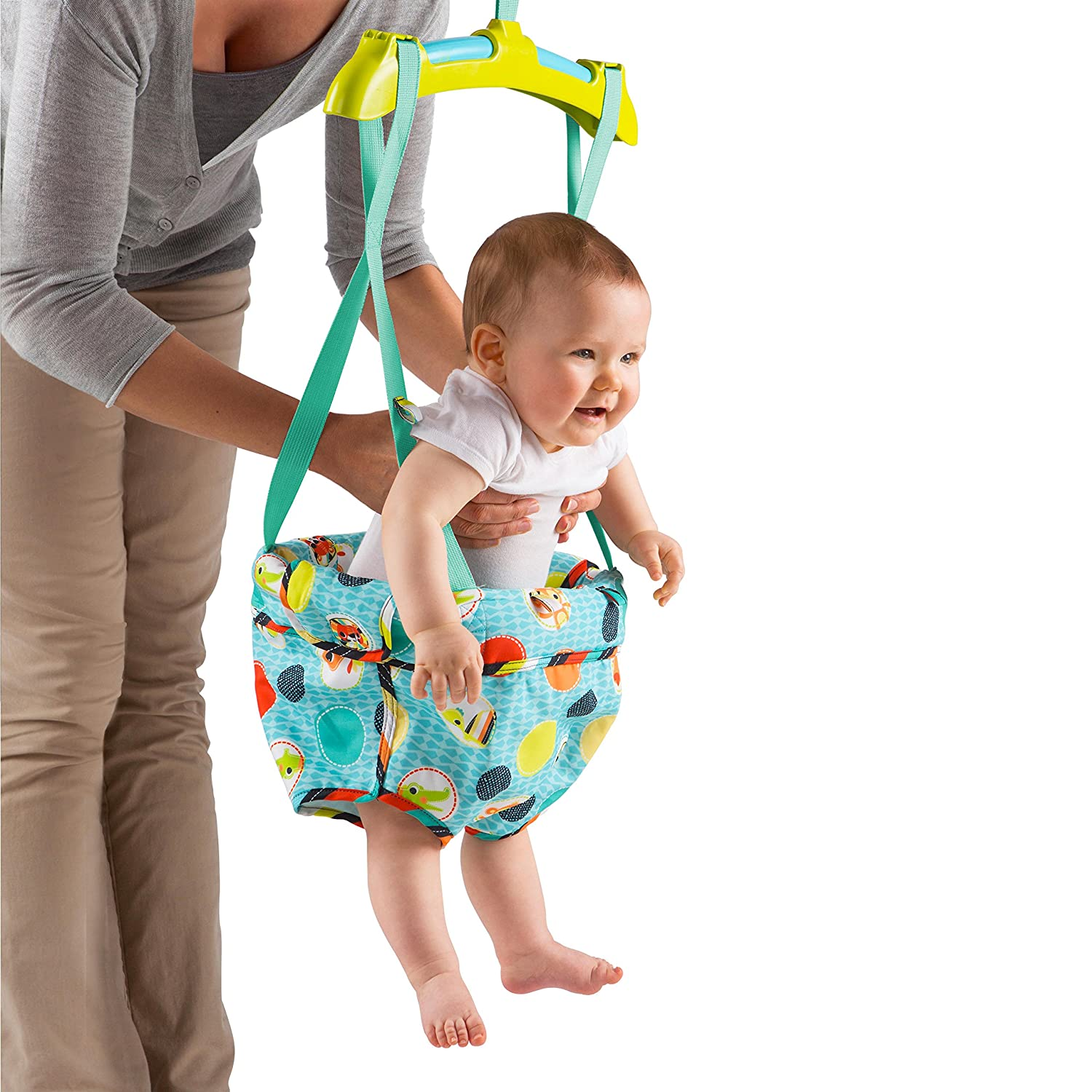 Baby Swing Jumper And Bouncer Bright Starts Kaleidoscope Safari Door ...