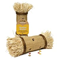 Rosewood Boredom Breaker Loofa Toss N Treat Roller (Assorted Colours)