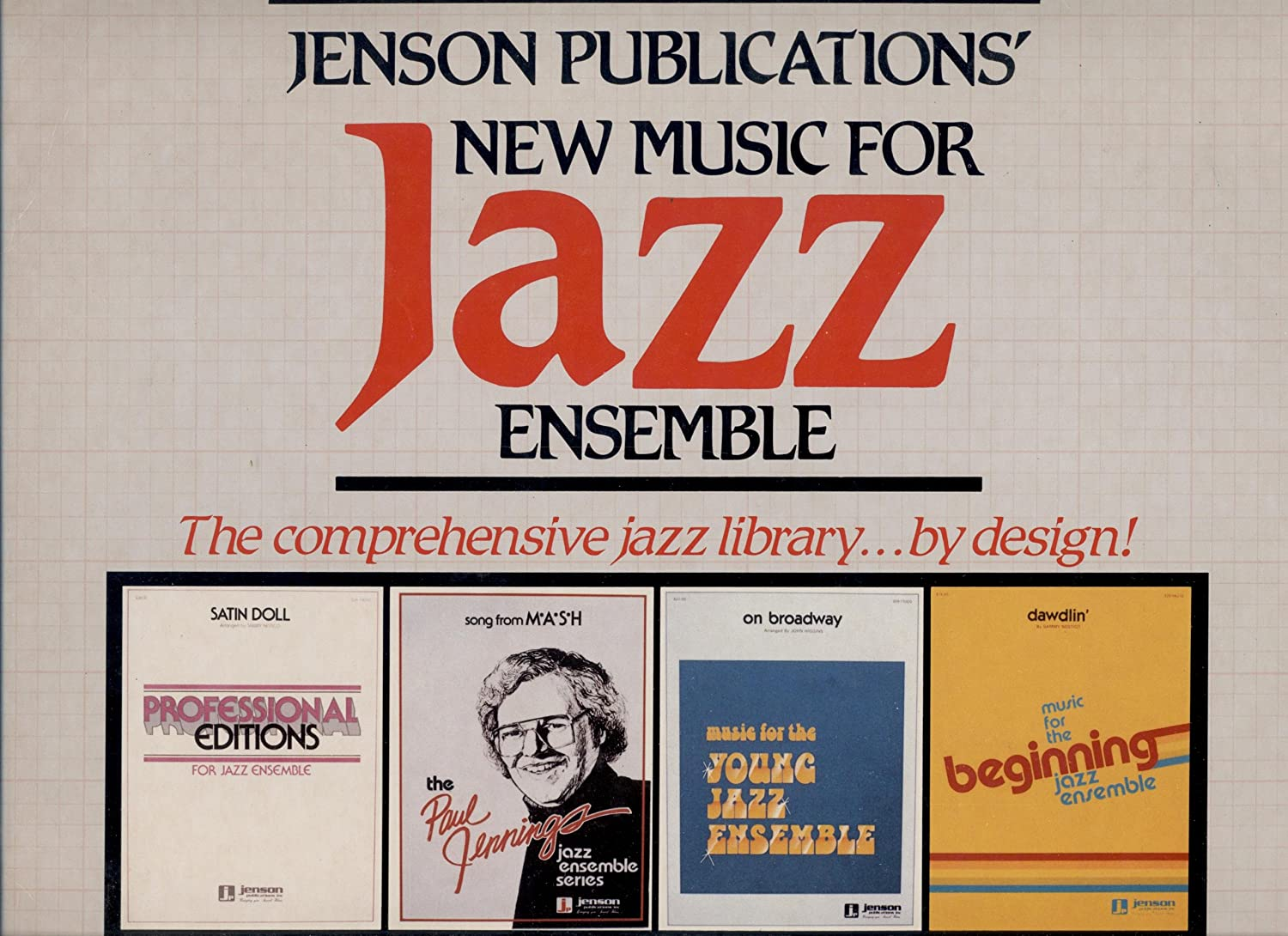 Various - Jenson Publications New Music For Jazz Ensemble