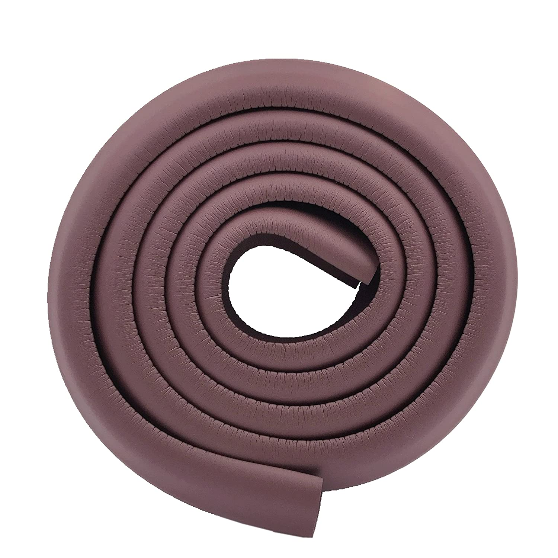 Black M2cbridge L Shape Extra Thick Furniture Table Edge Protectors Foam Baby Safety Bumper Guard 6.5 Ft