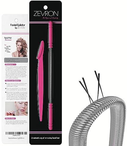ZEVRON - Depilador para bello facial