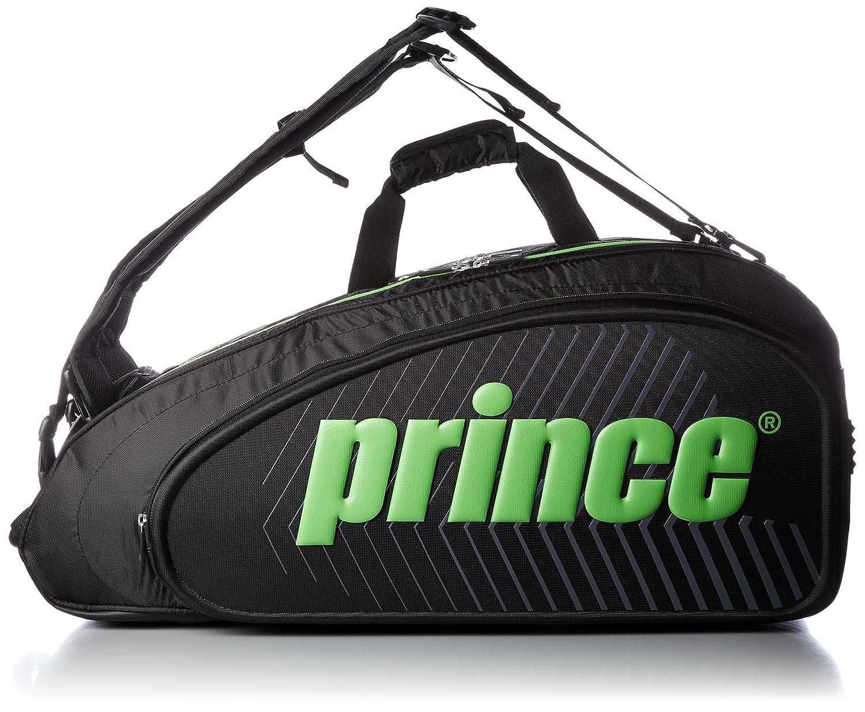 最高の品質 [プリンス] ラケットバッグ ラケットバッグ9本入 B01MRA0234 ブラック/グリーン B01MRA0234, フゲシグン:ce49db11 --- svecha37.ru
