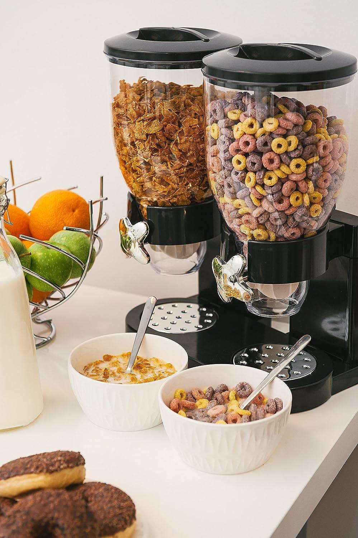 Boca dispensadora para comida seca como cereales, granola, frutos secos, dulces, ...