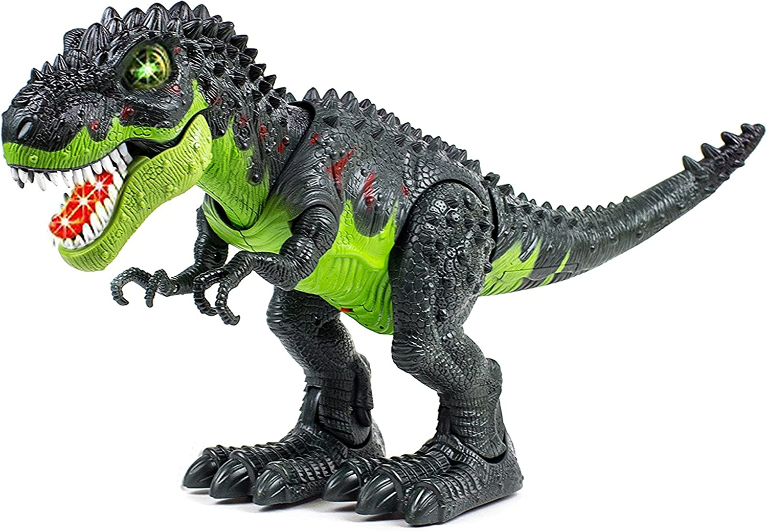 Battery Operated Robot Dinosaur Toy Roaring sound and walk Assorted Colour