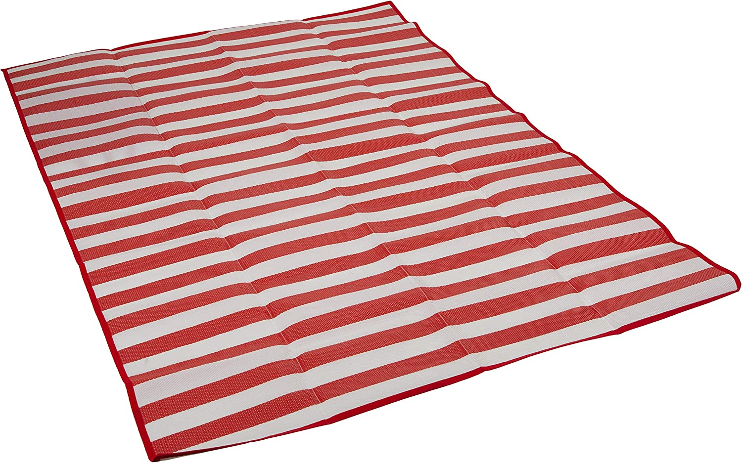 STANSPORT - Tatami Ground Mat for Indoor or Outdoor Use for Camping & the Beach (60 in x 78 in, Red)