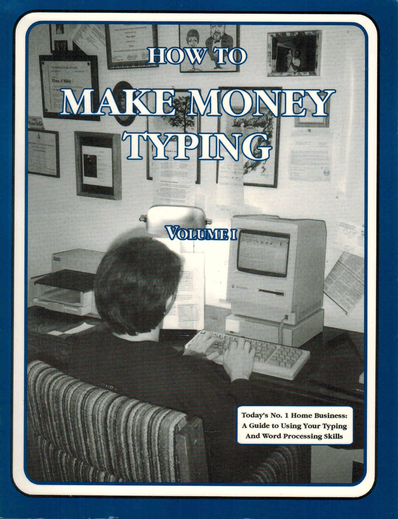 how to make money typing on amazon