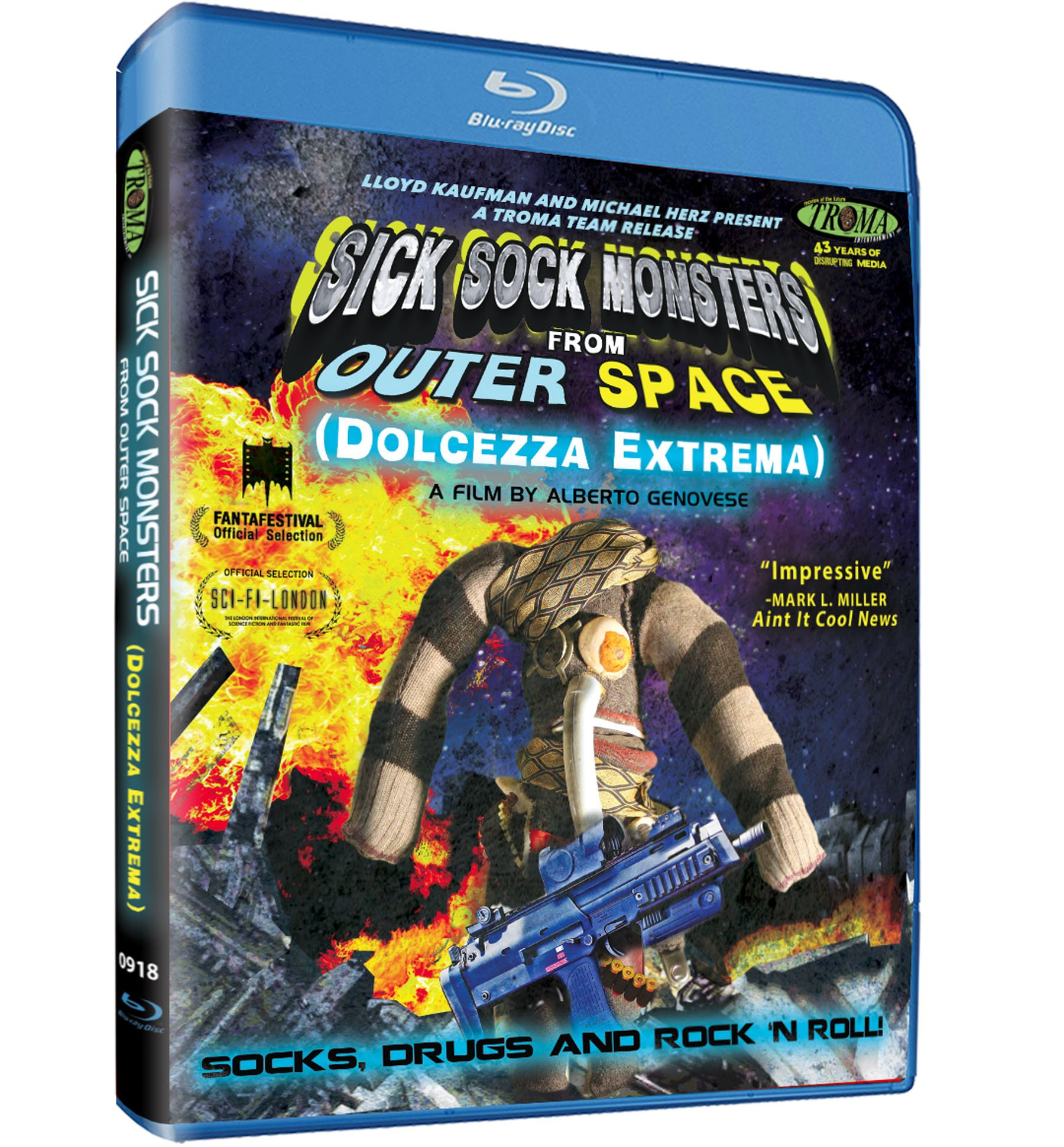Blu-ray : Sick Sock Monsters From Outer Space (Blu-ray)