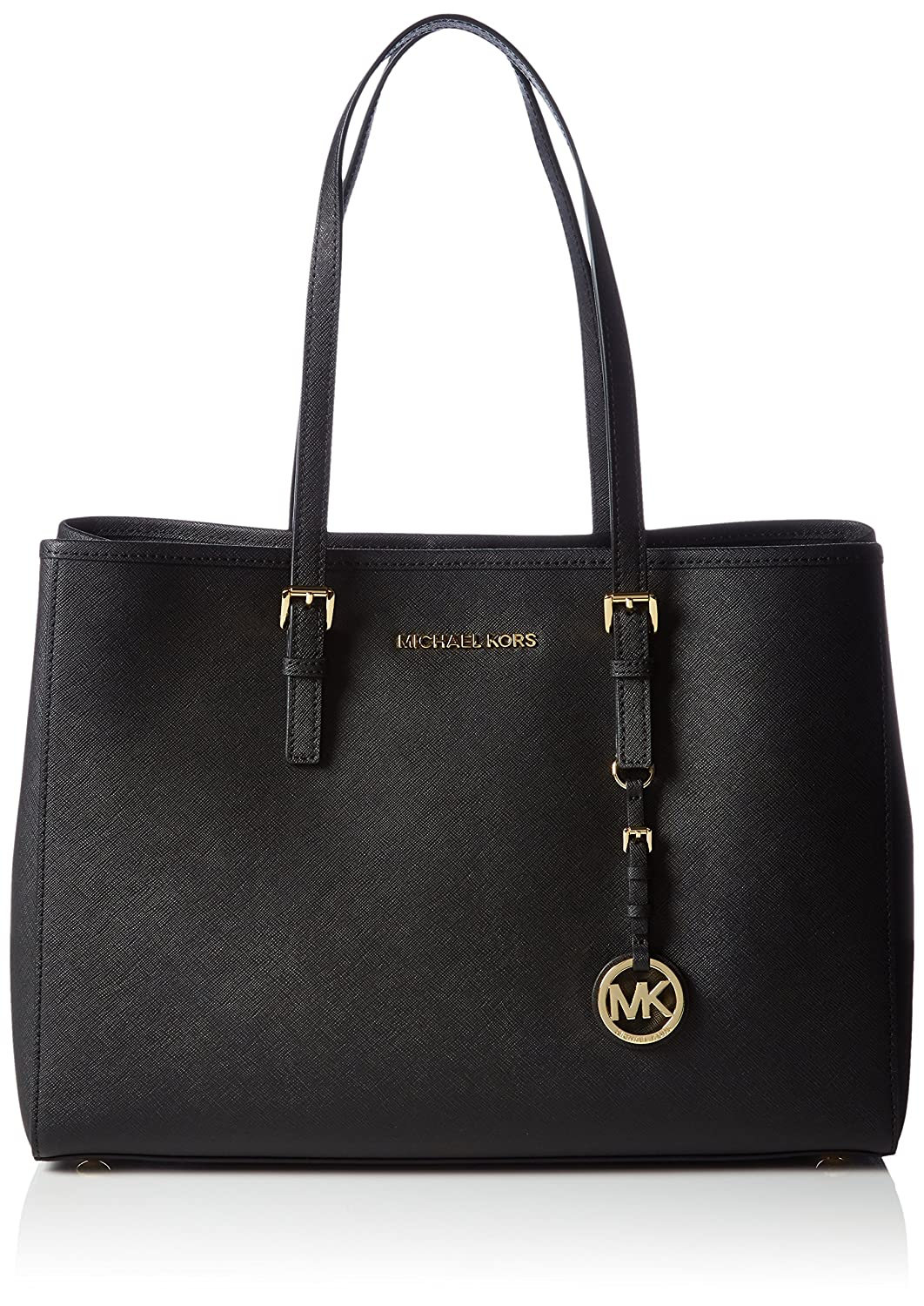 Michael Kors Womens Jet Set Travel Tote Black  Amazon.co.uk  Shoes   Bags 42176b5139