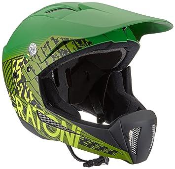 Cratoni Shakedown - Casco para Bicicleta, Primavera/Verano, Unisex, Color Verde -