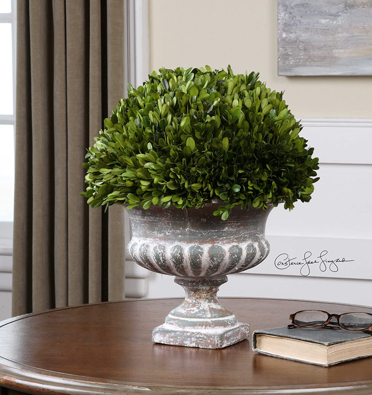 Boxwood Garden Urn the Preserved Collection Accessories