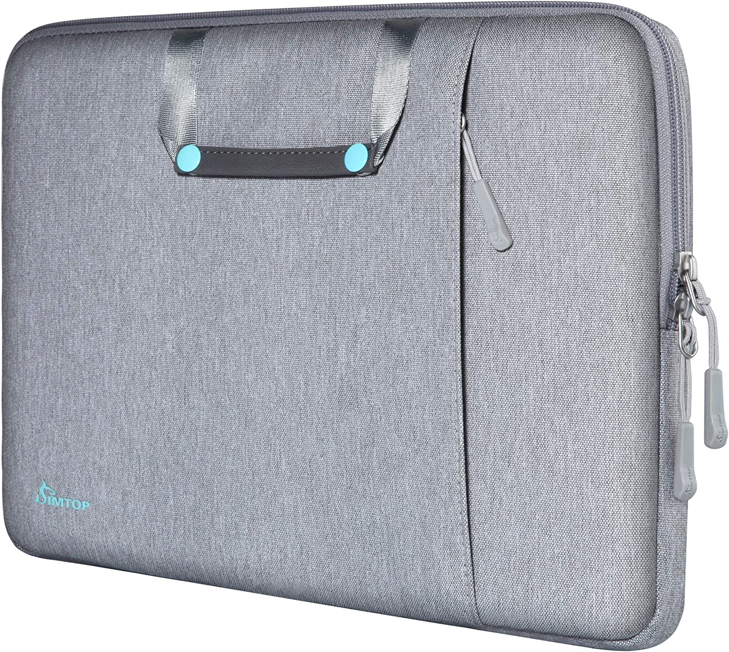 SIMTOP 15.6 Inch Laptop Sleeve Briefcase Bag for 15.6