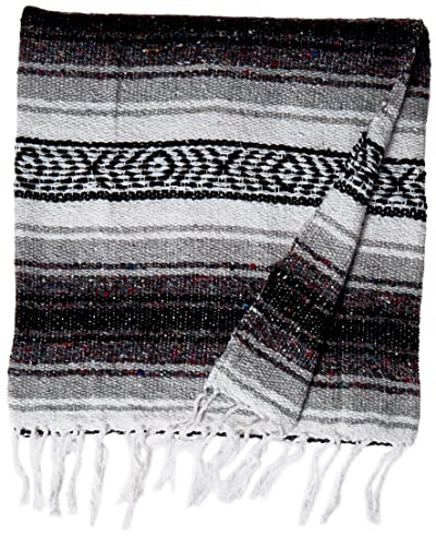 KAYSO Authentic 6' x 5' Mexican Siesta Blanket