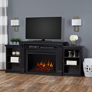 Amazon.com: Real Flame 8720E-BLK Tracey Grand Entertainment Unit ...