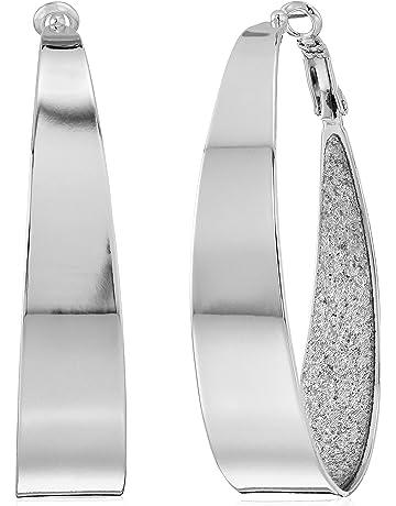 72f1b2535bee8 Women's Hoop Earrings | Amazon.com