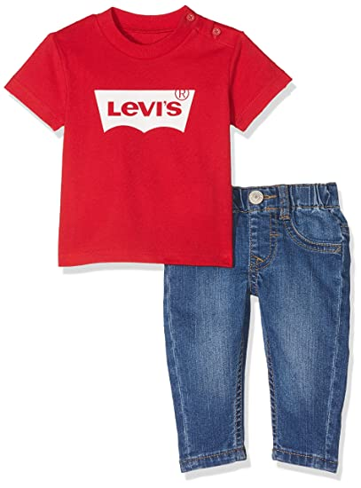 649fab80 Levi's Kids Baby Boys' Outfit Clothing Set, Multicoloured (Assortment), 1  Year