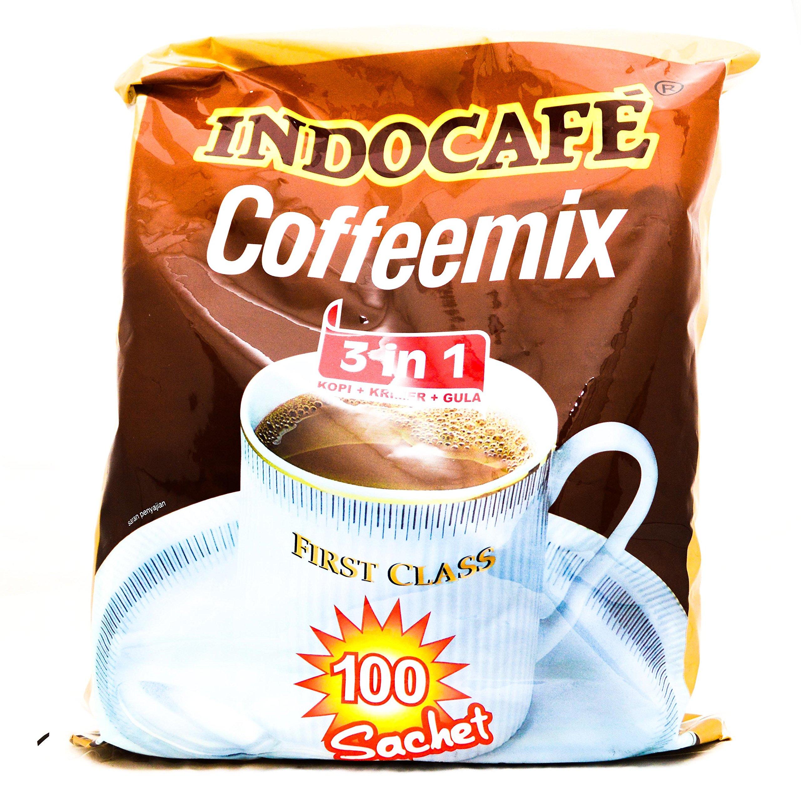 Indocafe Coffeemix 3 in 1 Coffee 2000 Gram (70.54 Oz) 100-ct @ 20 Gram