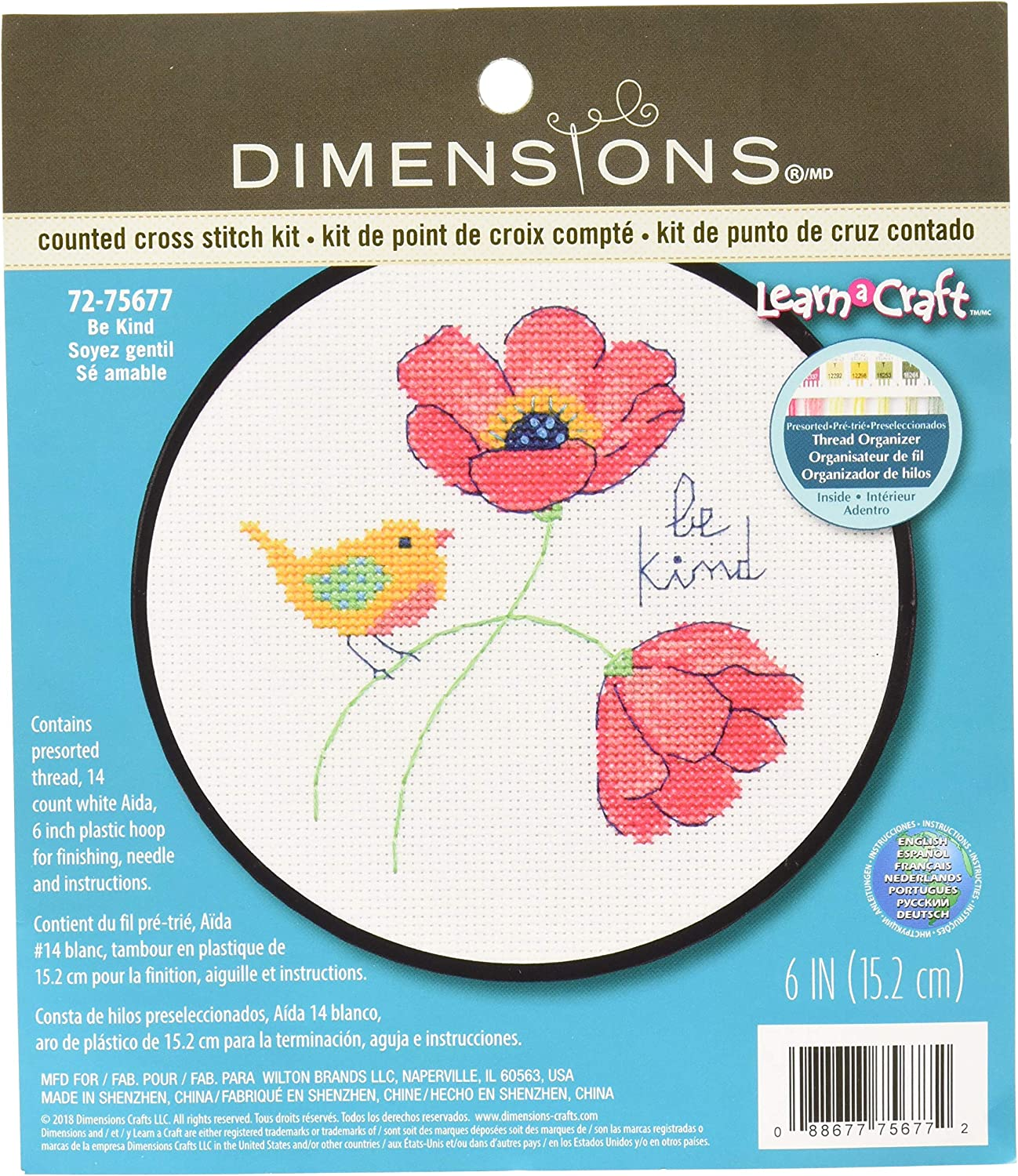 Dimensions Needlecraft Counted Cross Stitch Learn Craft Kit SELECT YOUR DESIGN!