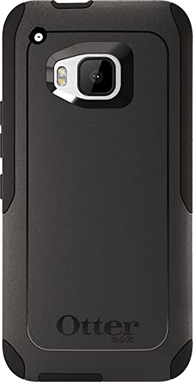 outlet store 968e9 46317 OtterBox Commuter Case for HTC One M9 - Retail Packaging - Black  (Black/Black)