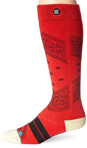 Stance Men's Unified Crew Sock, Red, Sock Size:10-13/Shoe