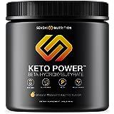 Keto Power - Exogenous Ketones Keto Diet Supplement - BHB Salts to Enhance Performance, Kickstart Ketosis, Increase Focus, Burn Fat for Energy - Orange Mango Beta-Hydroxybutyrates - goBHB
