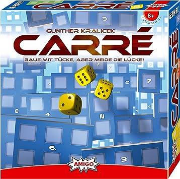 Amigo 01310 Carre - Juego de Mesa de Dados (Instrucciones en alemán): Kralicek, Günther: Amazon.es: Juguetes y juegos