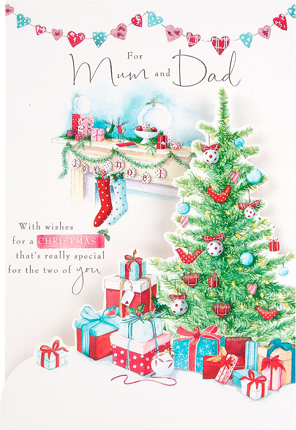 For A Special Dad Traditional Christmas Greeting Card Special Xmas Cards