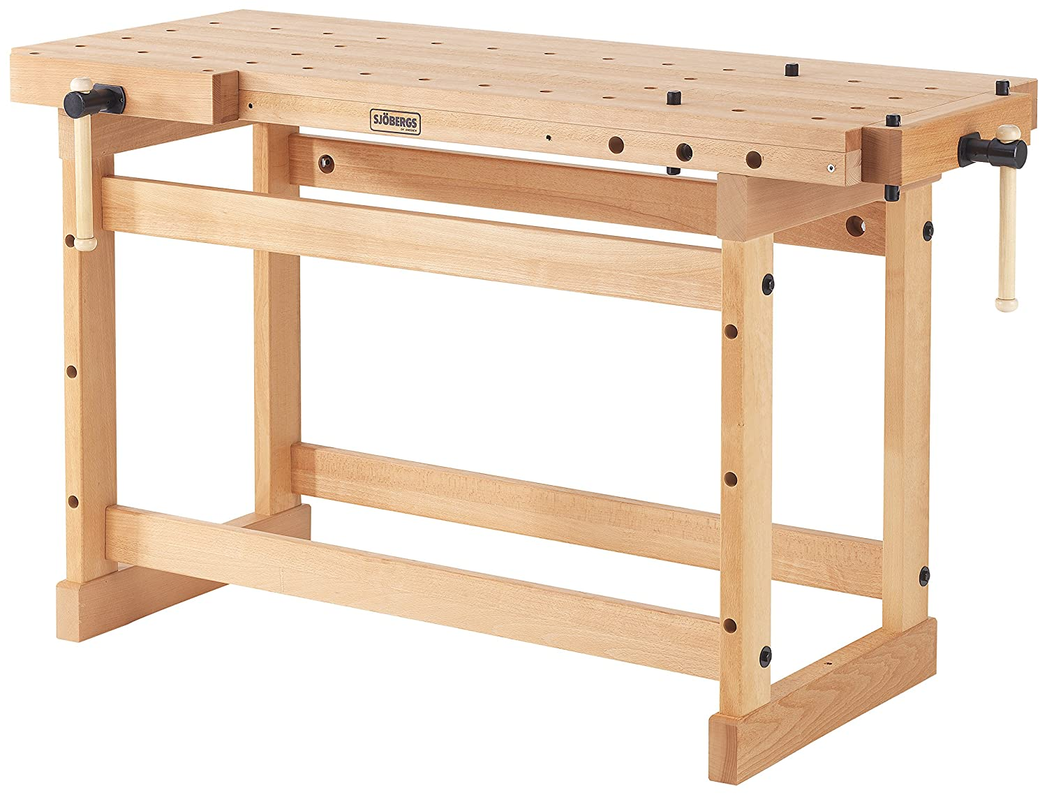 workbench wood accessories sjobergs sjo beech woodworking bench p elite in workbenches ft the