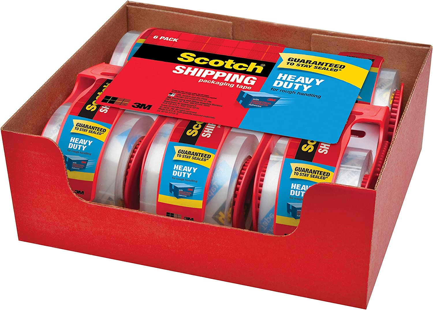 Scotch/Â Rolls in Handheld Dispensers TAPE,MLNG,2X800,6//PK,CR Pack of5