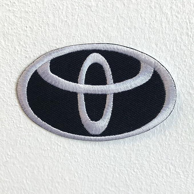 Parche bordado para coser o planchar de Toyota Motorsports: Amazon.es: Hogar