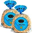 Metsuyan Laffa Pita Whole Wheat Flatbread Kosher (2 Pack)