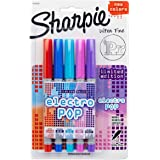 Sharpie Permanent Markers, Ultra Fine Point, Assorted 2015 Colors, 5-Count