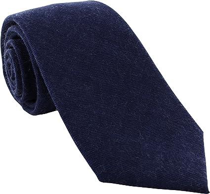 Michelsons of London - Corbata - para hombre azul azul marino Talla única: Amazon.es: Ropa y accesorios