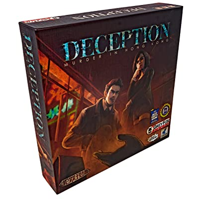 Grey Fox Games Deception: Murder in Hong Kong Board Game: Toys & Games