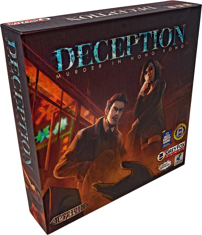 Deception: Murder in Hong Kong by Grey Fox Games