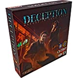 Grey Fox Games Deception: Murder in Hong Kong Board Game, Fast Pace Murder Mystery, 20 min, 4-12 Players, Age 14+ ...Who Amon