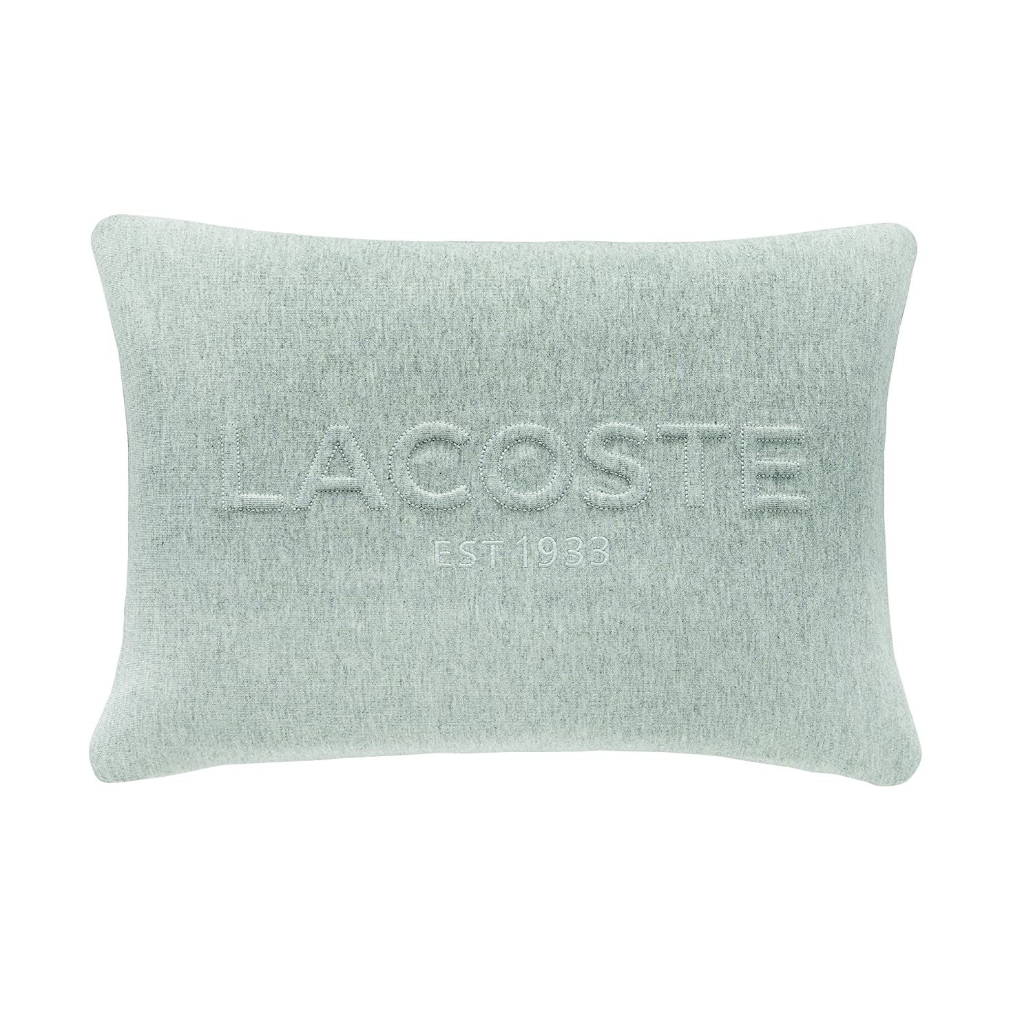 Amazon.com: Lacoste Quilted Pique almohada decorativa ...