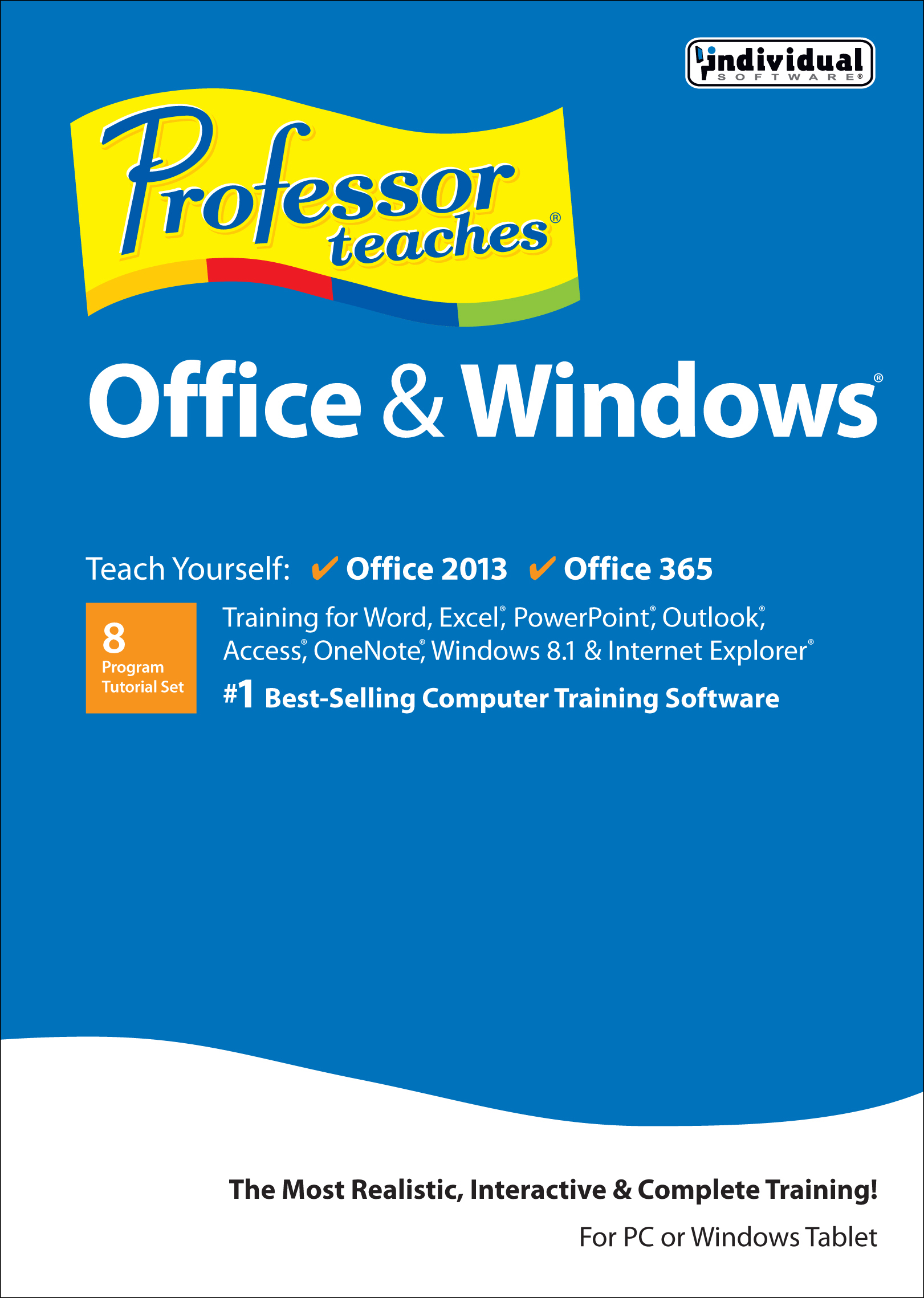 Professor Teaches Office & Windows Tutorial Set Download [Download] by Individual Software