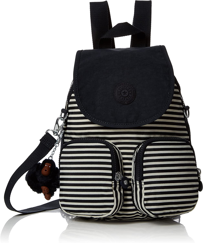 Kipling Firefly Up Medium Backpack Marine Stripy B