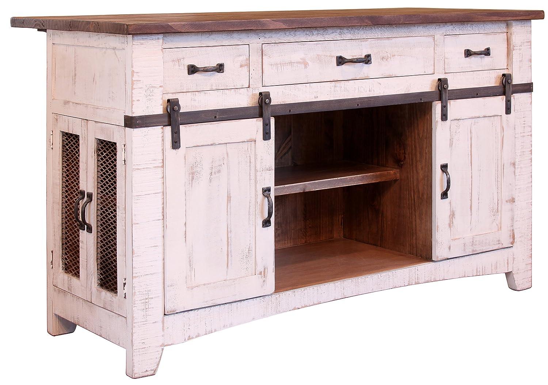 Burleson Home Furnishings Anton Farmhouse - Puerta corredera de ...