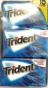 Trident Original Sugar-Free Gum (15 Pack)