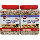 Baron's Kosher Whole Wheat Israeli Couscous Toasted Pasta 21.16-ounce Jar (Pack of 2)